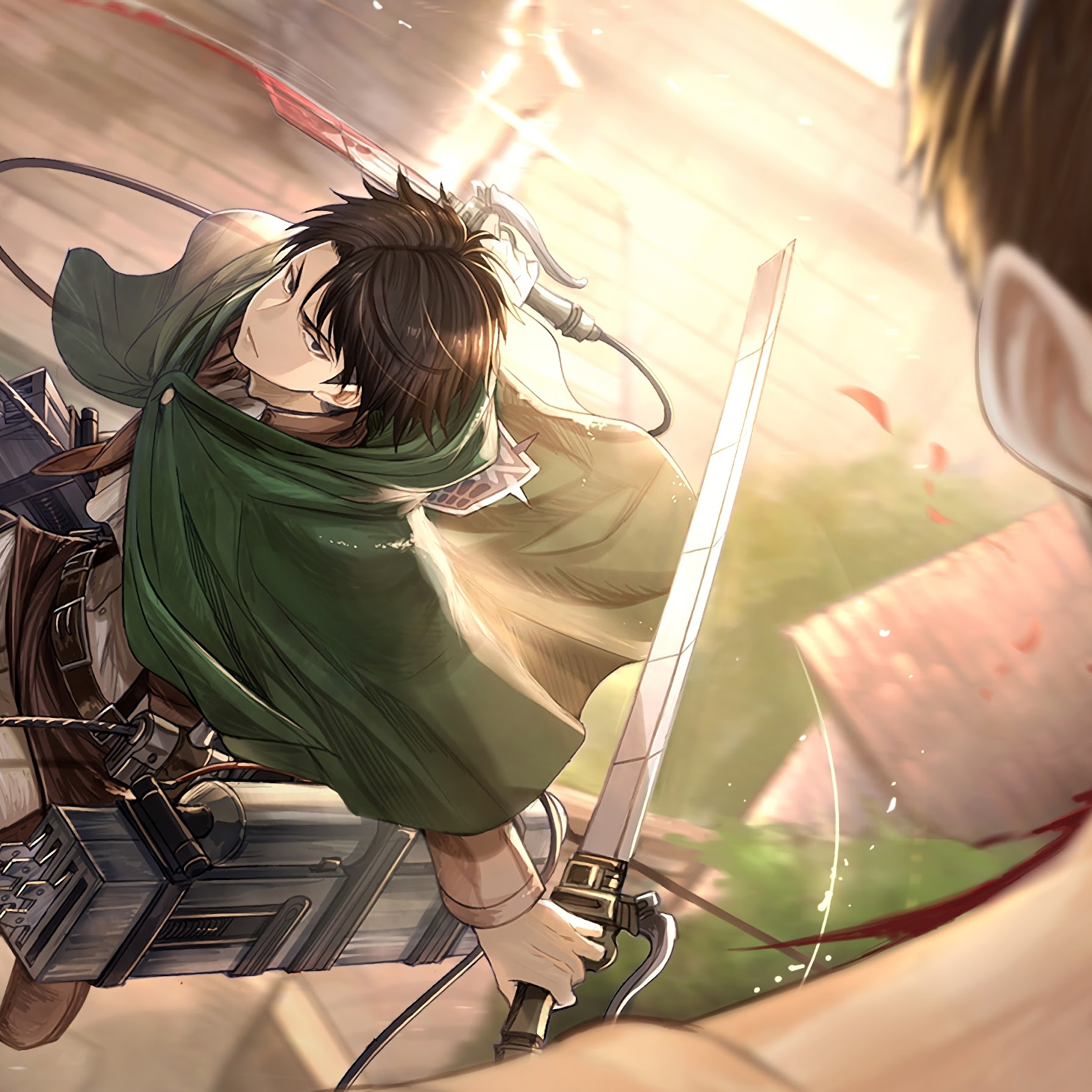 This article explains how to set live wallpapers on an iphone. Levi, Attack on Titan, 4K, #1 Wallpaper