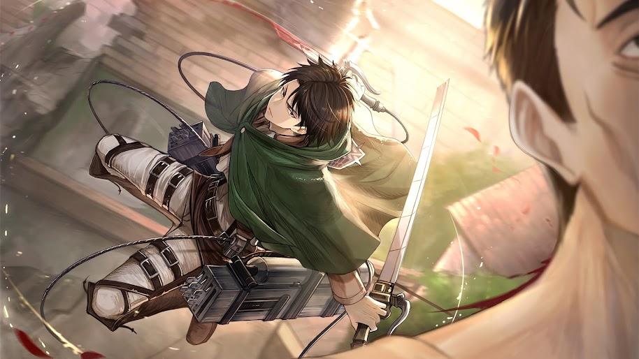 Levi Attack On Titan 4k Wallpaper 1