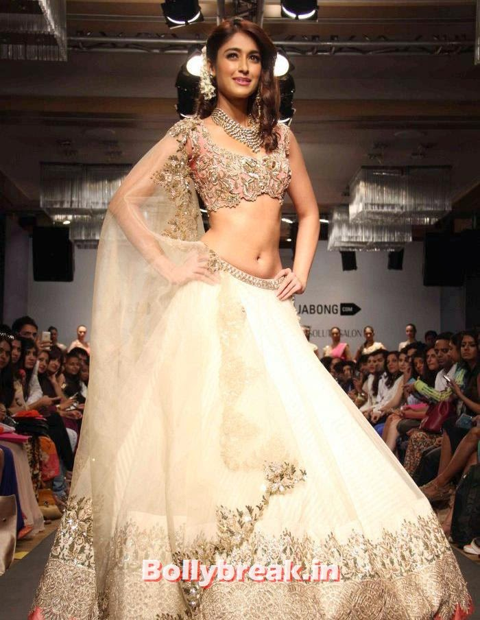 Ileana D'Cruz, Ileana D'Cruz at Anushree Reddy Show - Lakme Fashion Week