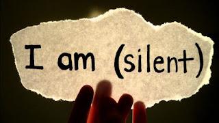 yang diam belum tentu selalu diam