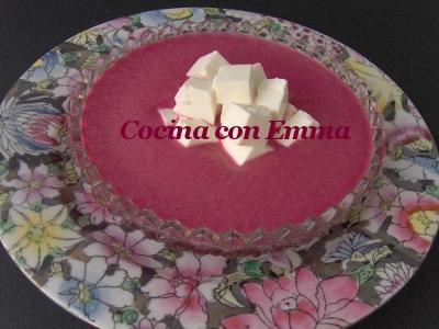 Sopa fría de remolacha-2