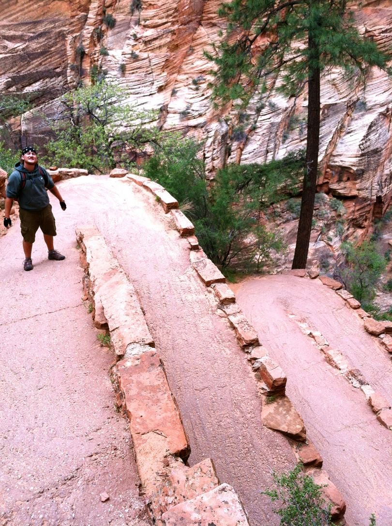 Walter's Wiggles on Angels Landing Trail, Utah