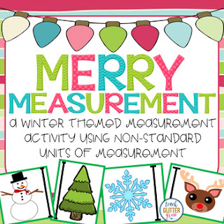 Christmas Non-Standard Measurement