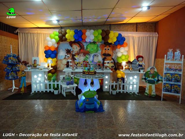 Decoração festa Toy Story - Aniversário infantil - Provençal luxo