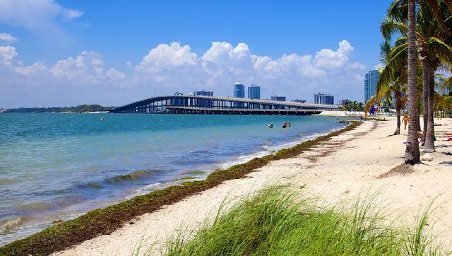 Passeio pelas praias paradisíacas em Miami