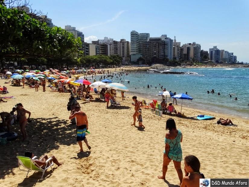 Praia das Castanheiras - o que fazer em Guarapari - Espírito Santo