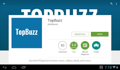 topbuzz, mobile app