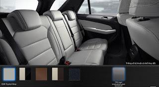 Nội thất Mercedes GLE 400 4MATIC Coupe 2019 màu Xám Crystal 228