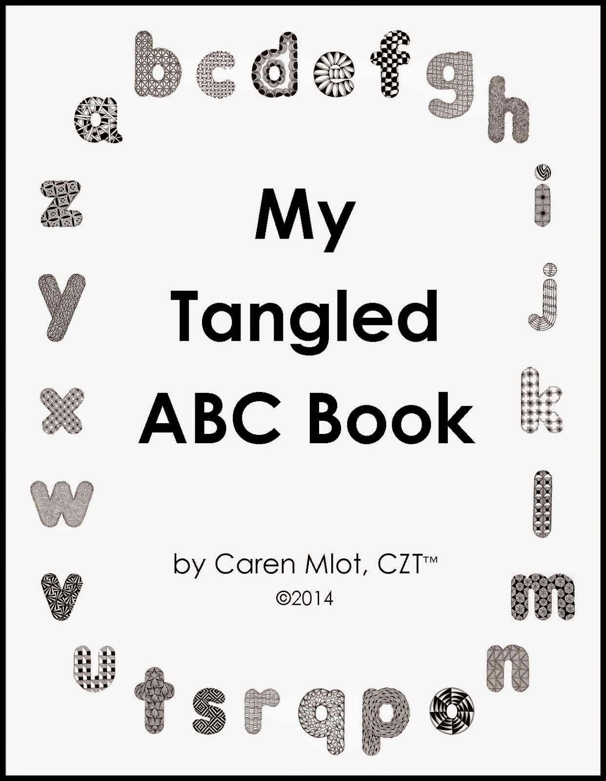 Tangled ABC e-book