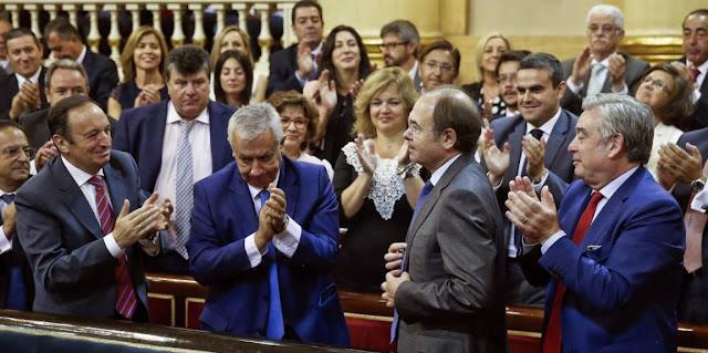 Pio Garcia-Escudero y Presidente del Senado