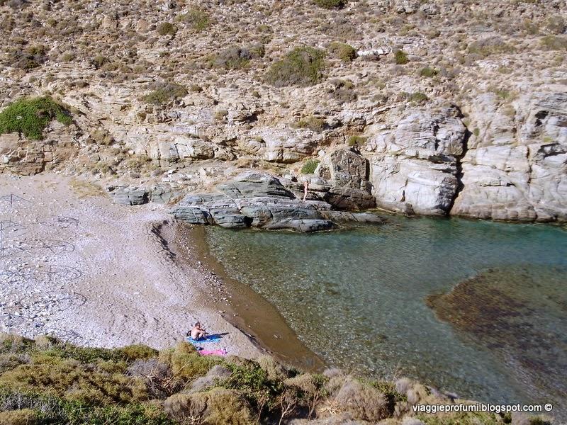 Sikinos spiaggia di Dialiskhari
