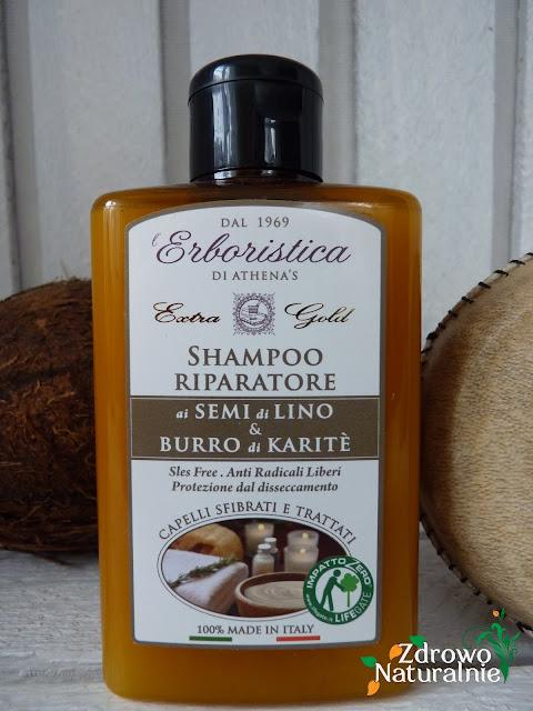 Athena's - L'Erboristica Natura - Regenerujący szampon do włosów zniszczonych