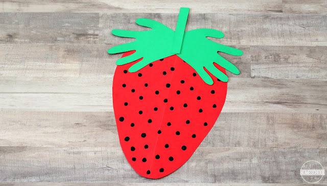 summer hand art craft for toddler, preschool, prek, kindergarten