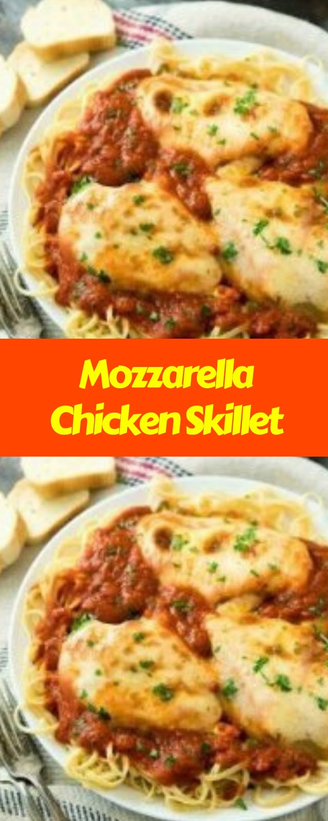 Mozzarella Chicken Skillet