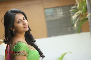 Actress Nikitha Bisht Stills in Lehenga Choli at Pochampally Ikat Art Mela Launch  0441.JPG