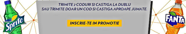 concurs fanta vs sprite 2016 premii si capace cu coduri castigatoare