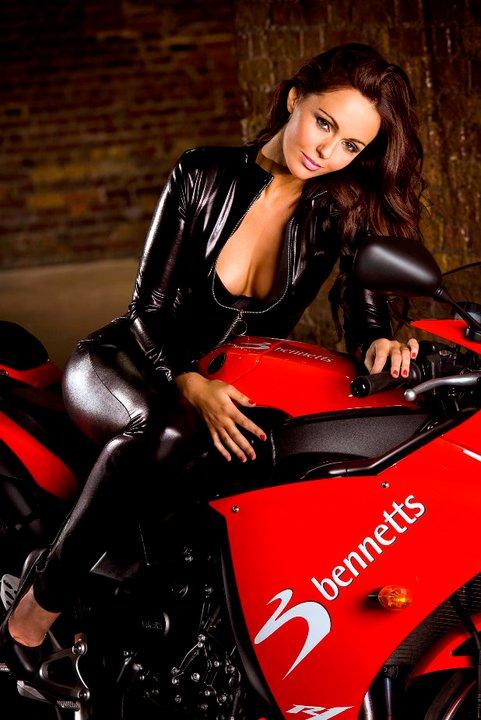 Asian Girl Wallpaper Motoblogn Jennifer Metcalfe Bennetts Babes Motorcycle