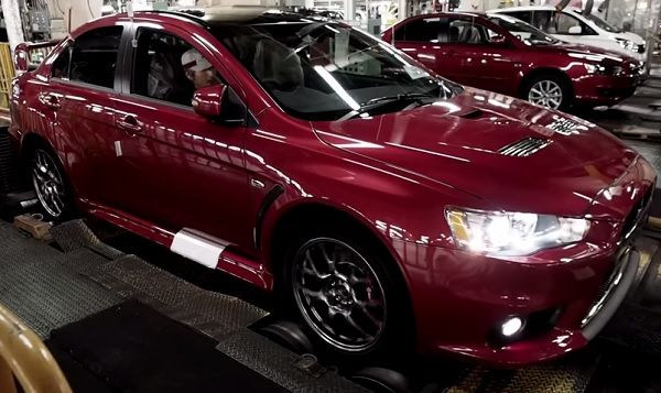 Así se fabricó el Mitsubishi Evolution X Final Edition (video)