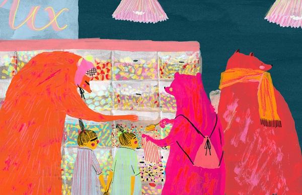 Ilustración por Mouni Feddag | cool stuff, pictures, drawings, imagenes chidas psicodelicas