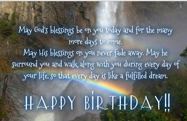Spiritual birthday quote