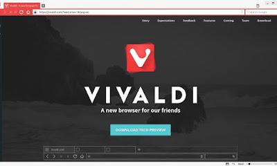 Navegador web Vivaldi