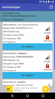 AndroDumpper ( WPS Connect ) v1.997