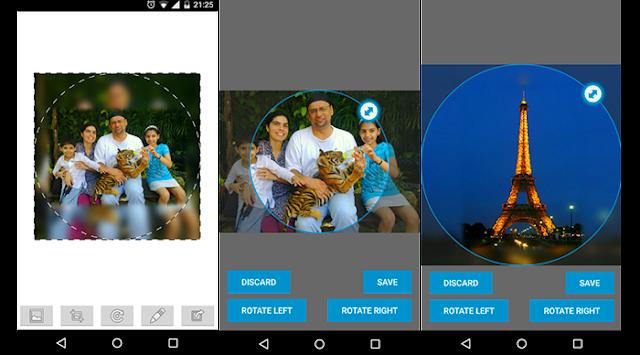 Aplikasi Profile WO Cropping For BBM™