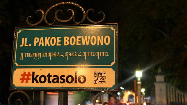 Jl. Pakoe Boewono Solo