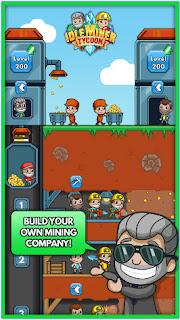 تحميل لعبة زعيم المناجم Idle Miner Tycoon v1.43.1