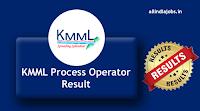 KMML Process Operator Result