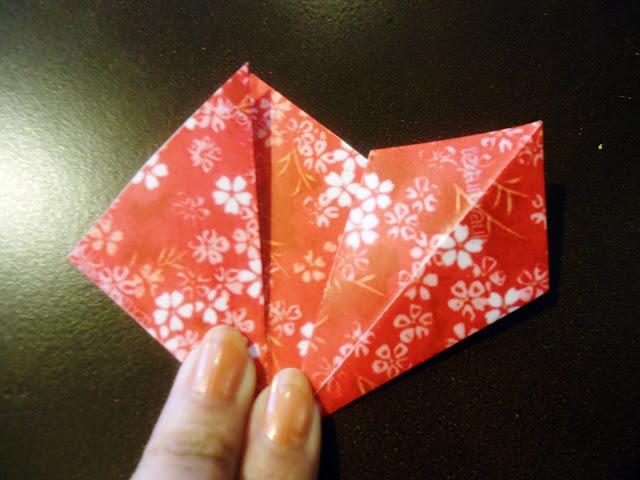 DIY Christmas Origami Flowers