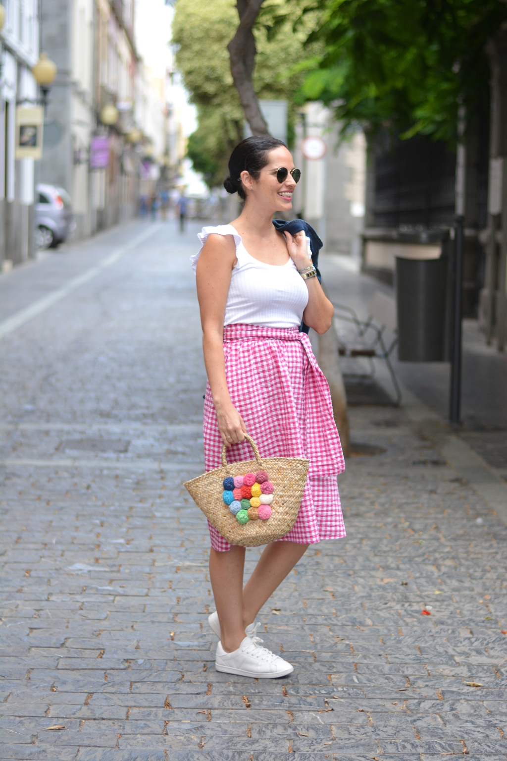 zara-pink-vichy-skirt-outfit-gema-betancor