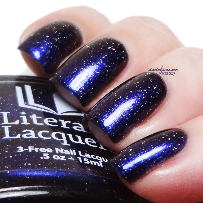 xoxoJen's swatch of Literary Lacquers Miner's Gift