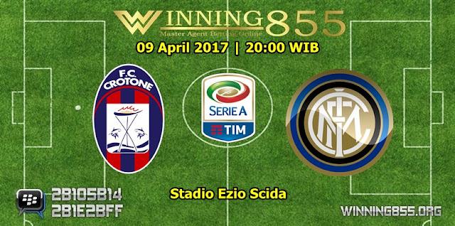 Prediksi Skor Crotone vs Inter Milan 09 April 2017