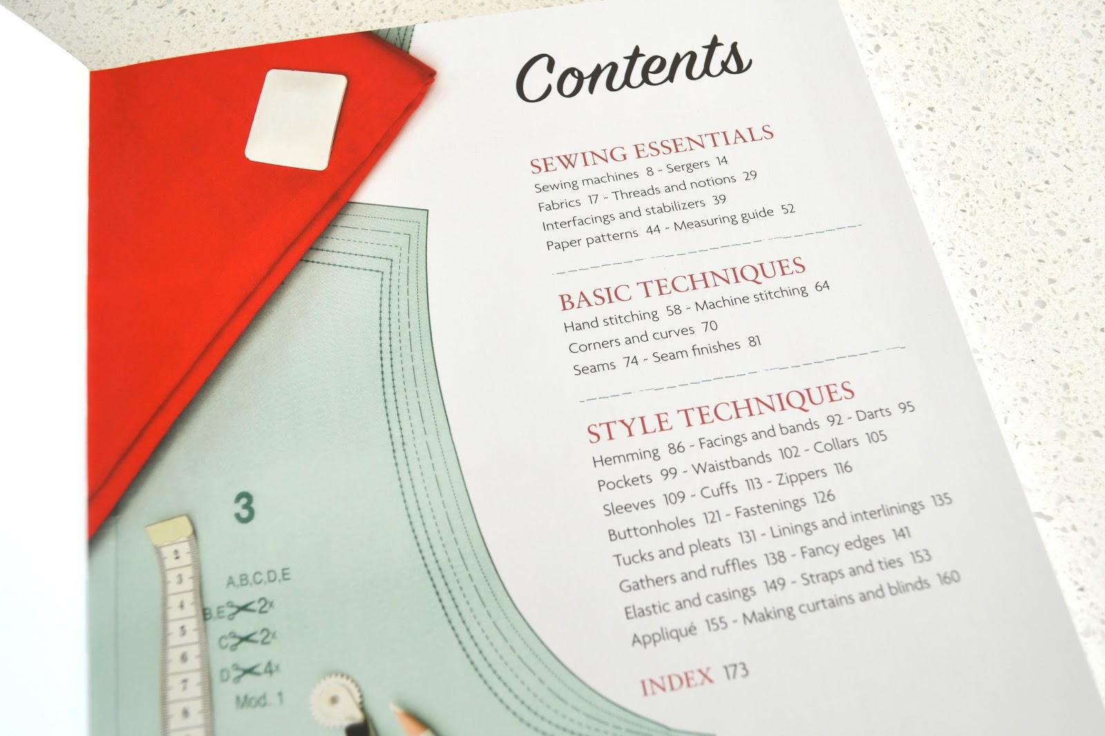 Serger Essentials Sewing Book