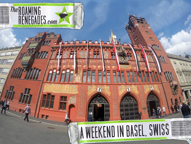 basel, Switzerland, travel, travelling, traveling, Europe, long weekend, weekend break, city break, euro trip, rathaus, red rathaus, black forest, Rhine, munsterplatz, munster cathedral, guide to basel, what to do in basel, marktplatz