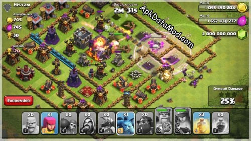Clash of Clans Cute But Dangerous Apk Mod