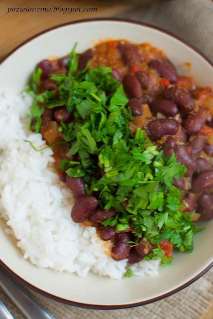 Rajma, czyli curry z czerwonej fasoli