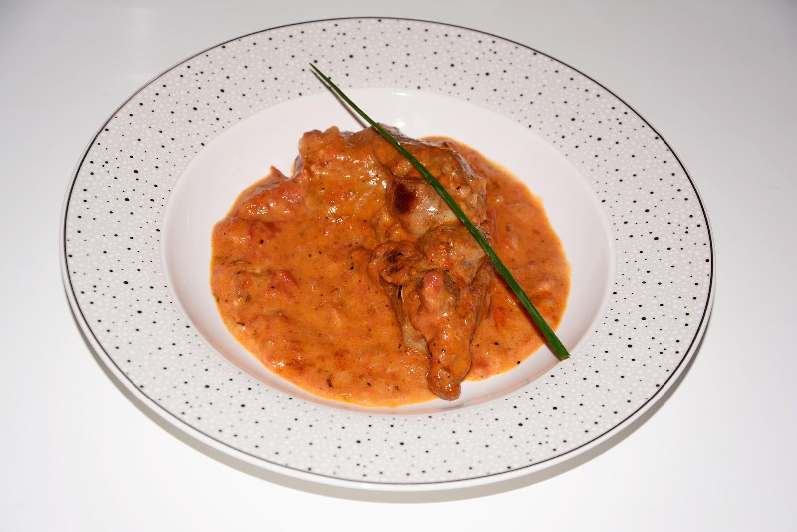 Lamb in creamy sauce