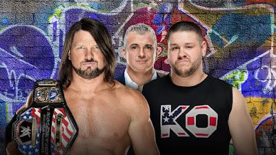 AJ Styles vs. Kevin Owens United States Championship