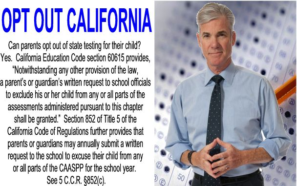 Image result for big education ape opt out Tom Torlakson