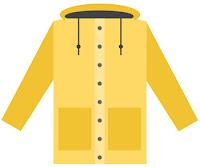 raincoat clipart