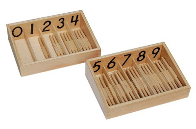 Montessori Spindle Boxes