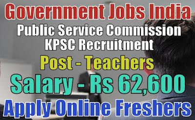 KPSC Recruitment 2018