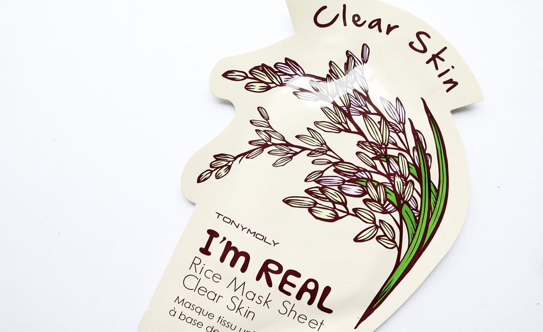 Tony Moly Rice Clear Skin Sheet Mask