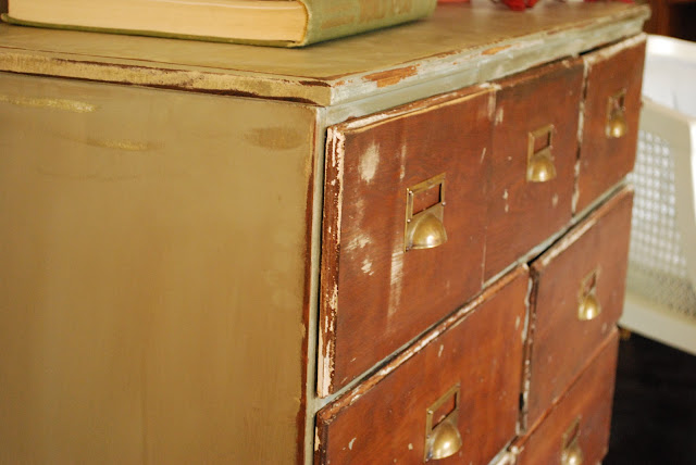 Between Blue and Yellow: Very old dresser - photo#41