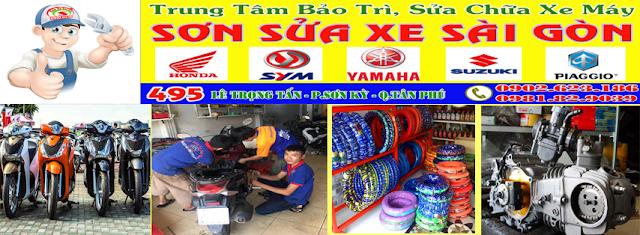 Trung tâm bảo trì sửa chữa xe gắn máy uy tín chuyên nghiệp Sài Gòn