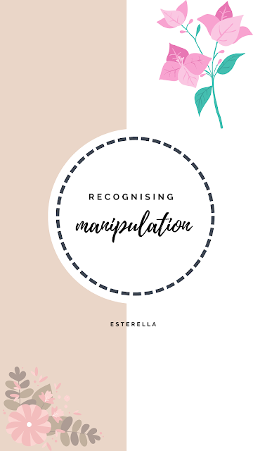 Recognising manipulation graphic with pink flowers