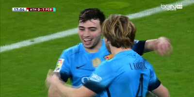Copa Del Rey : Athletic Bilbao 1 vs 2 Barcelona 20-01-2016