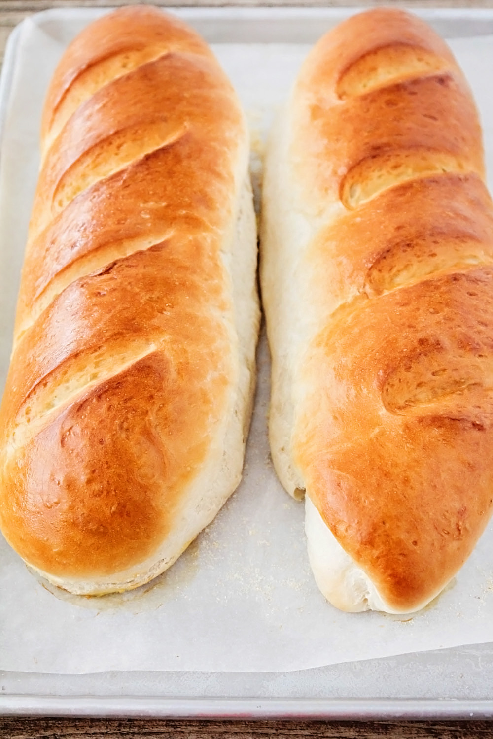 This soft and fluffy french bread is better than store-bought and so easy to make!